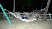 Lounging on the hammock...