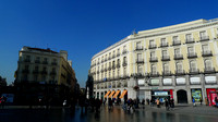 West side of the Puerta del Sol